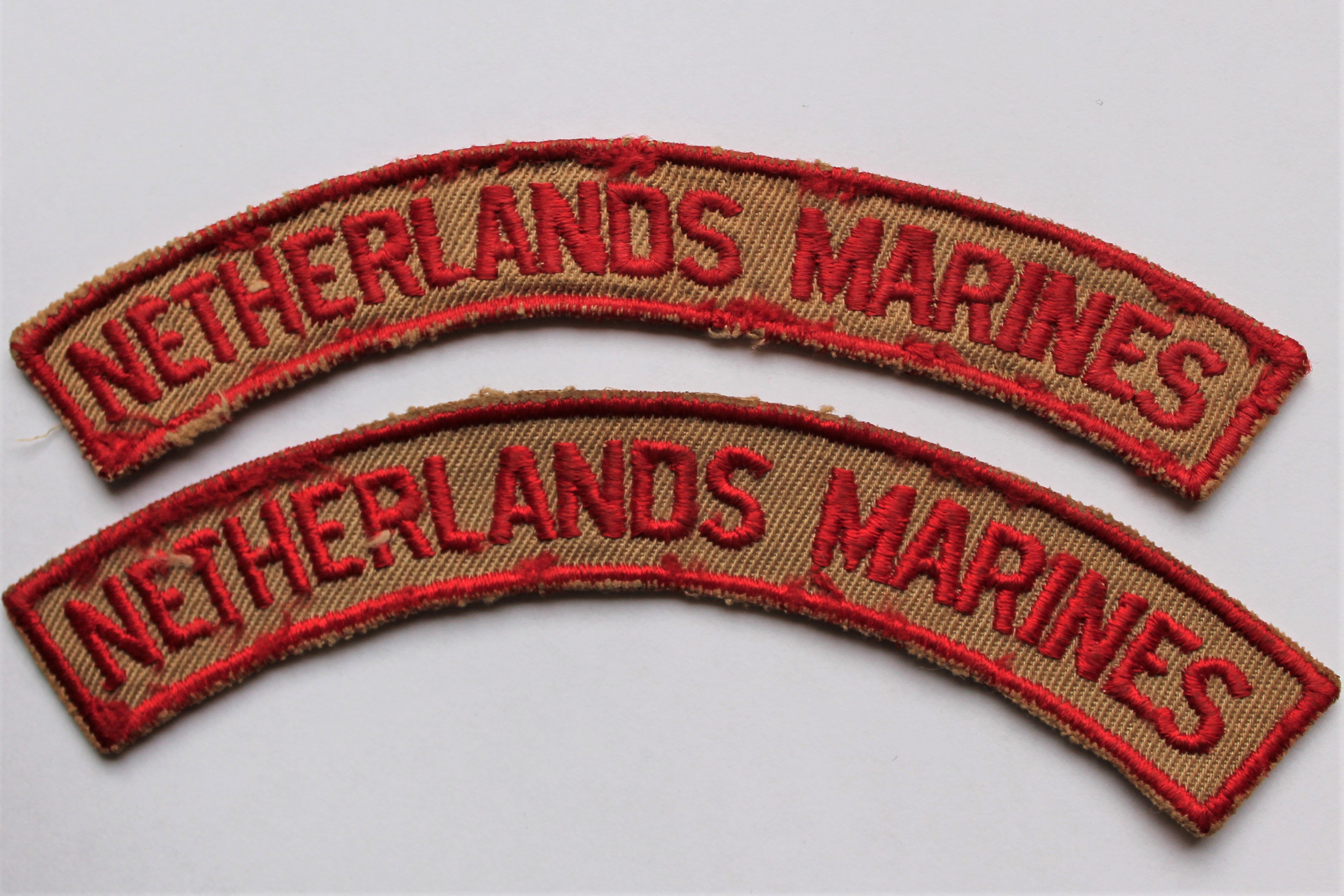 Schoudertitel Netherlands Marines