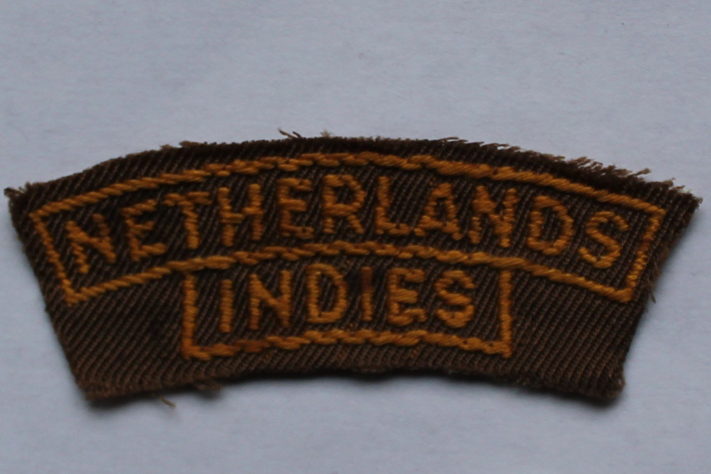 Schoudertitel Netherlands Indies